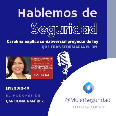 Carolina Ramírez explica el controversial Proyecto de Ley del #DNI   Con Roberto Cavada en ENTN
