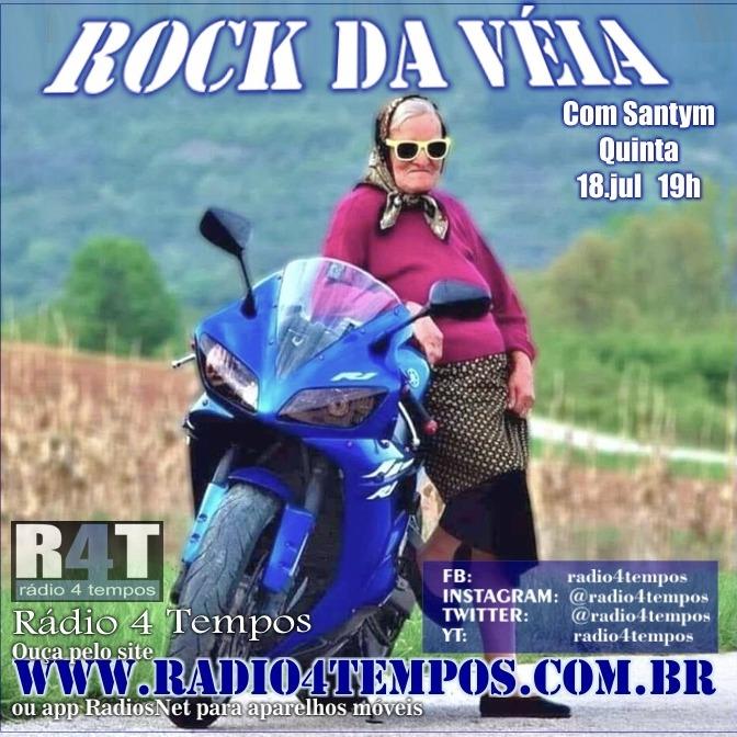 Rádio 4 Tempos - Rock da Véia 64