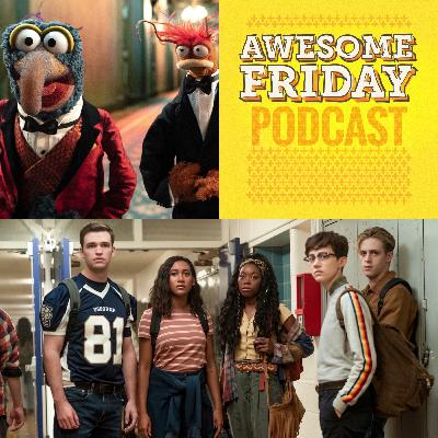 Episode 13: Awesome Friday Movie Podcast: 'Muppets Haunted Mansion' & 'There's Someone Inside Your House'