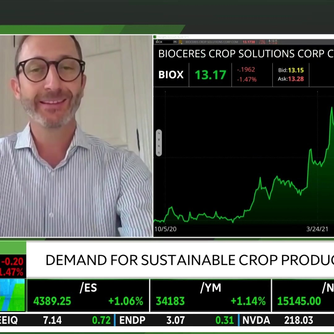 Bioceres Crop Solutions (BIOX) CEO With A Company Overview