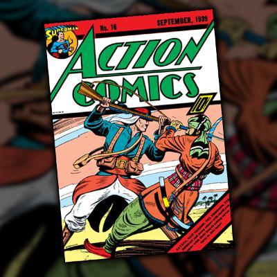 Action Comics #16 (September, 1939)