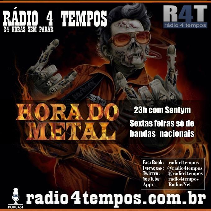 Rádio 4 Tempos - Hora do Metal 26:Rádio 4 Tempos