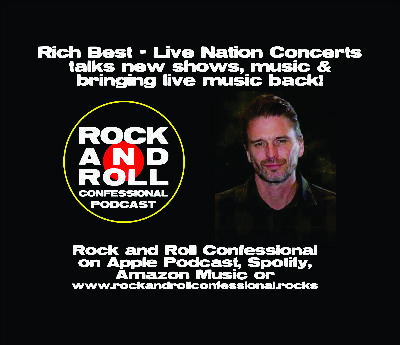 Rich Best from Live Nation Concerts talks with us about bringing back live music to the world!