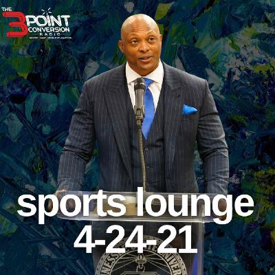 The 3 Point Conversion Sports Lounge - HBCU Questions, Justin Fields Drops Or Top 10 pick, Steph Curry's Hot Streak, MLB