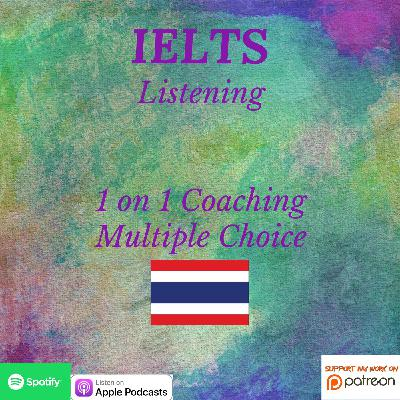 IELTS Listening Skills | 1 on 1 Coaching | Multiple Choice
