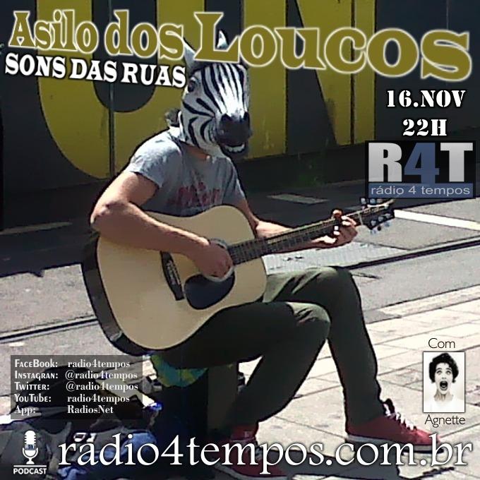 Rádio 4 Tempos - Asilo dos Loucos 231:Agnette
