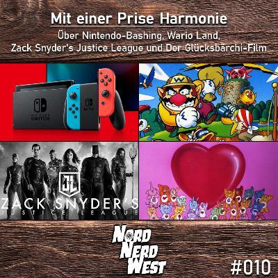 #010 Mit einer Prise Harmonie - Über Nintendo-Bashing, Wario Land, Zack Snyder's Justice League und Der Glücksbärchi-Film