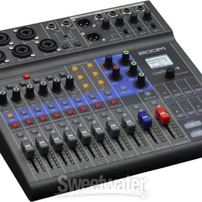 PMS: Testing Out the Zoom LiveTrak L-8 as a Travel Mixer