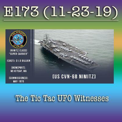 e173 The Tic Tac UFO Witnesses