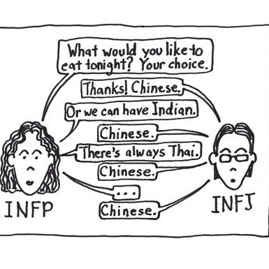 INFJ - INFP And INFJ Differences - Clearest Explanation [THEBARRACUDA57]