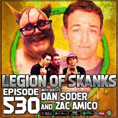 Episode #530 - Bullsh*t Chicken - Dan Soder and Zac Amico