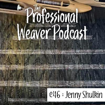 46 : Jenny Shulkin on how OoLaLoom came about, how social media is used to drive her business, and a little bit on the inner workings of baby wrap weaving.