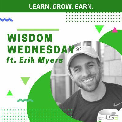 #WisdomWednesday with Erik Myers