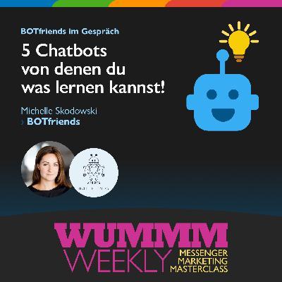 Michelle Skodowski - Was sind Deine Top 5 Chatbots & warum?