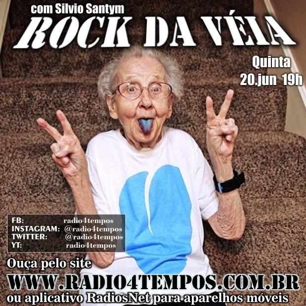 Rádio 4 Tempos - Rock da Véia 60