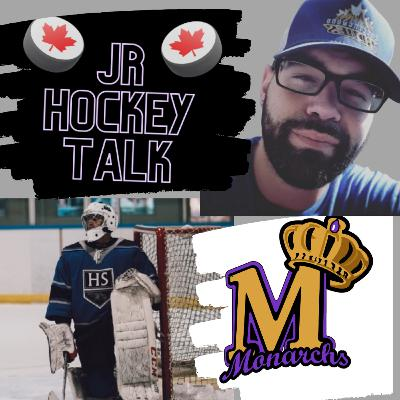 OJSL on Jr Hockey Talk - Tiger Ramcharitar - Newmarket Monarchs
