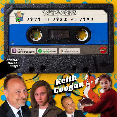 The judging is done, man! Keith Coogan raises the gavel on this duel between 1979,1982 &1997!