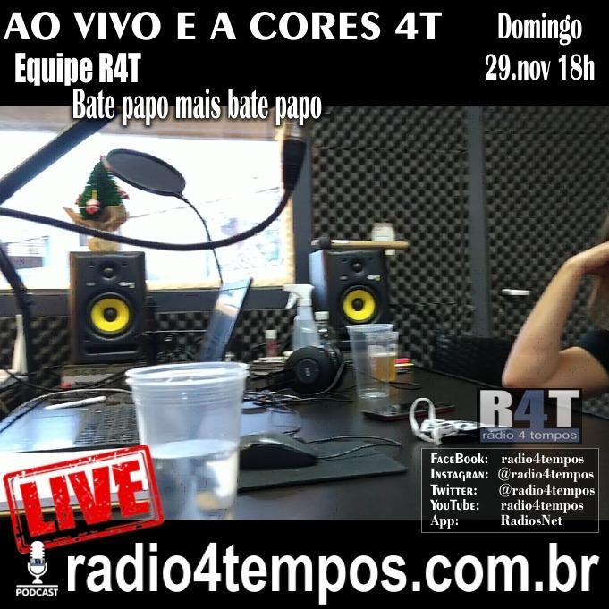 Rádio 4 Tempos - AVAC - Ao Vivo e A cores 77:Equipe R4T