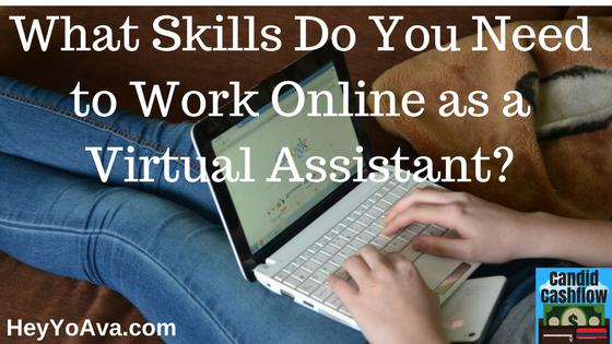 15: Virtual Assistant Job Description - What Skills Do You Need? - The Candid Cashflow Podcast