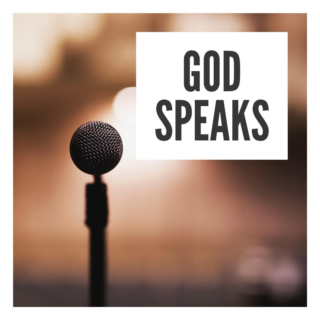 God Speaks (pt. 1)