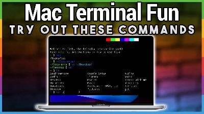 HOM 5: Fun With Mac Terminal Commands