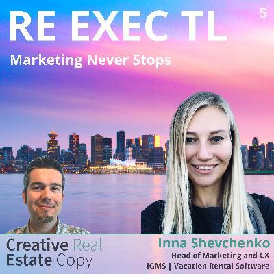 Data-Backed Decision Making in SaaS | Marketing Never Stops | Inna Shevchenko