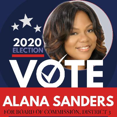 Alana Sanders, Candidate for Newton County, GA Board of Commissioners