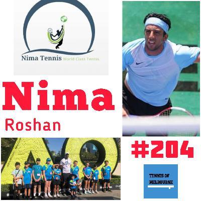 #204 Nima Roshan | Nima Tennis