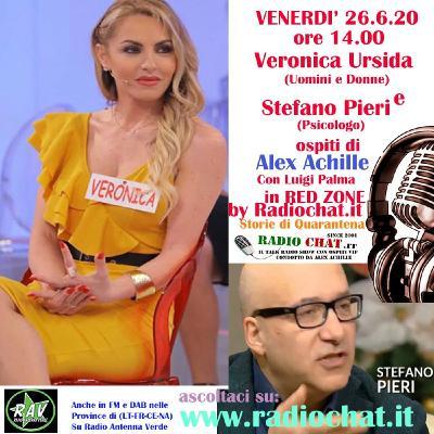 """Veronica Ursida e Stefano Pieri ospiti di Alex Achille in """"RED ZONE"""" by Radiochat.it"""