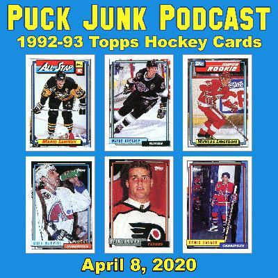 1992-93 Topps Hockey Cards | #54 | 4/8/2020