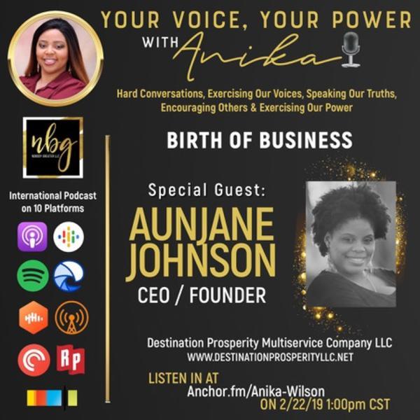Destination Prosperity with Aunjane Johnson