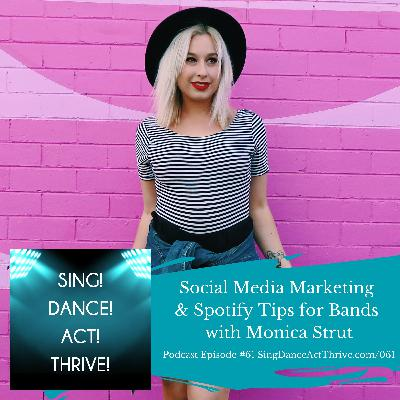 Social Media & Spotify Tips for Bands with Monica Strut