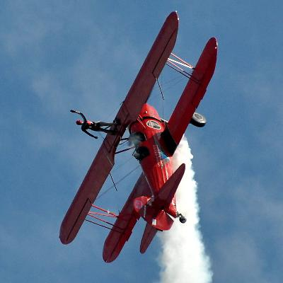Carol Pilon: Wingwalker