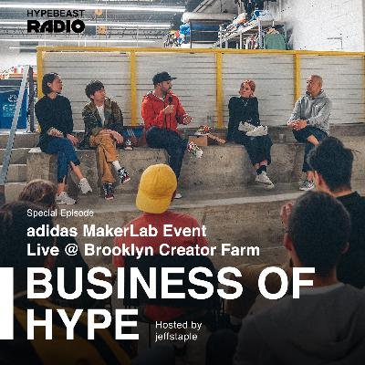 adidas MakerLab Event Live at Brooklyn Creator Farm