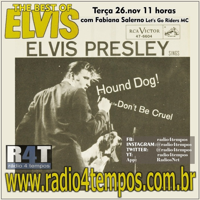 Rádio 4 Tempos - The Best of Elvis 89:Rádio 4 Tempos