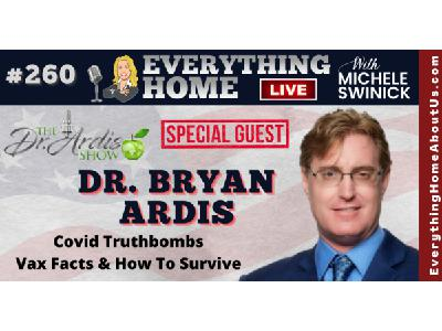 260: DR. BRYAN ARDIS | Covid19 Plandemic, Hospital Concentration Camps, Vaccines