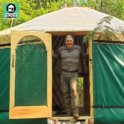 Living in a Yurt Full Time (Through Winter) with Kevin O'Brien