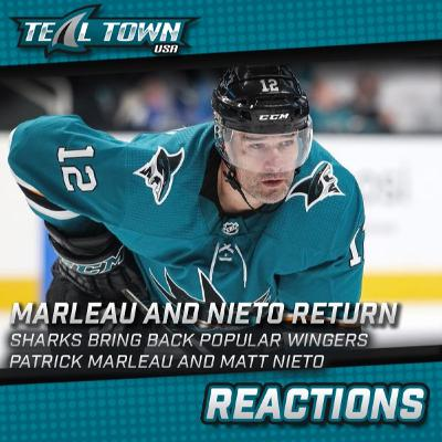 Patrick Marleau And Matt Nieto Return To San Jose Sharks