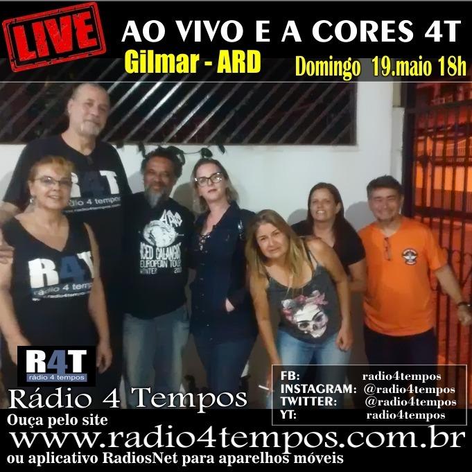 Rádio 4 Tempos - Ao Vivo E a Cores 52