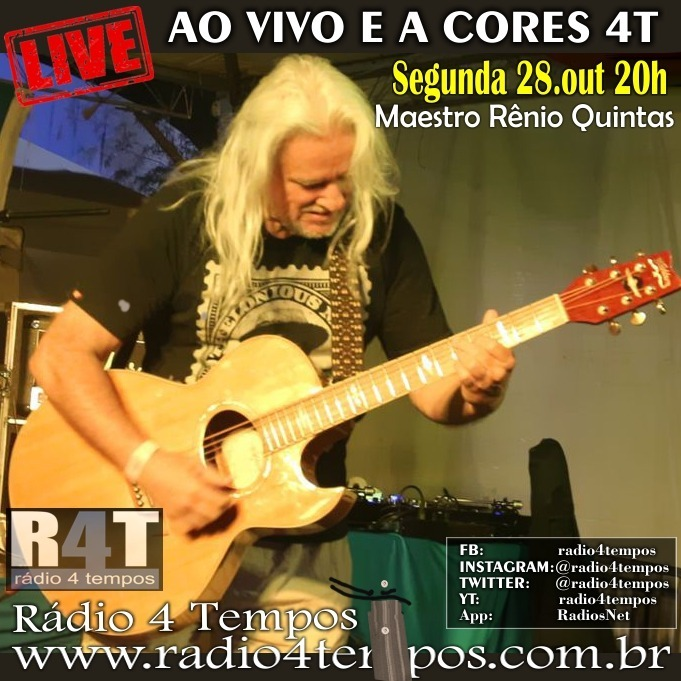 Rádio 4 Tempos - Ao Vivo E a Cores 62