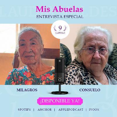 T1 Cap 9 Como yo lo Veo con mis abuelas Milagros y Consuelo en Cuba.