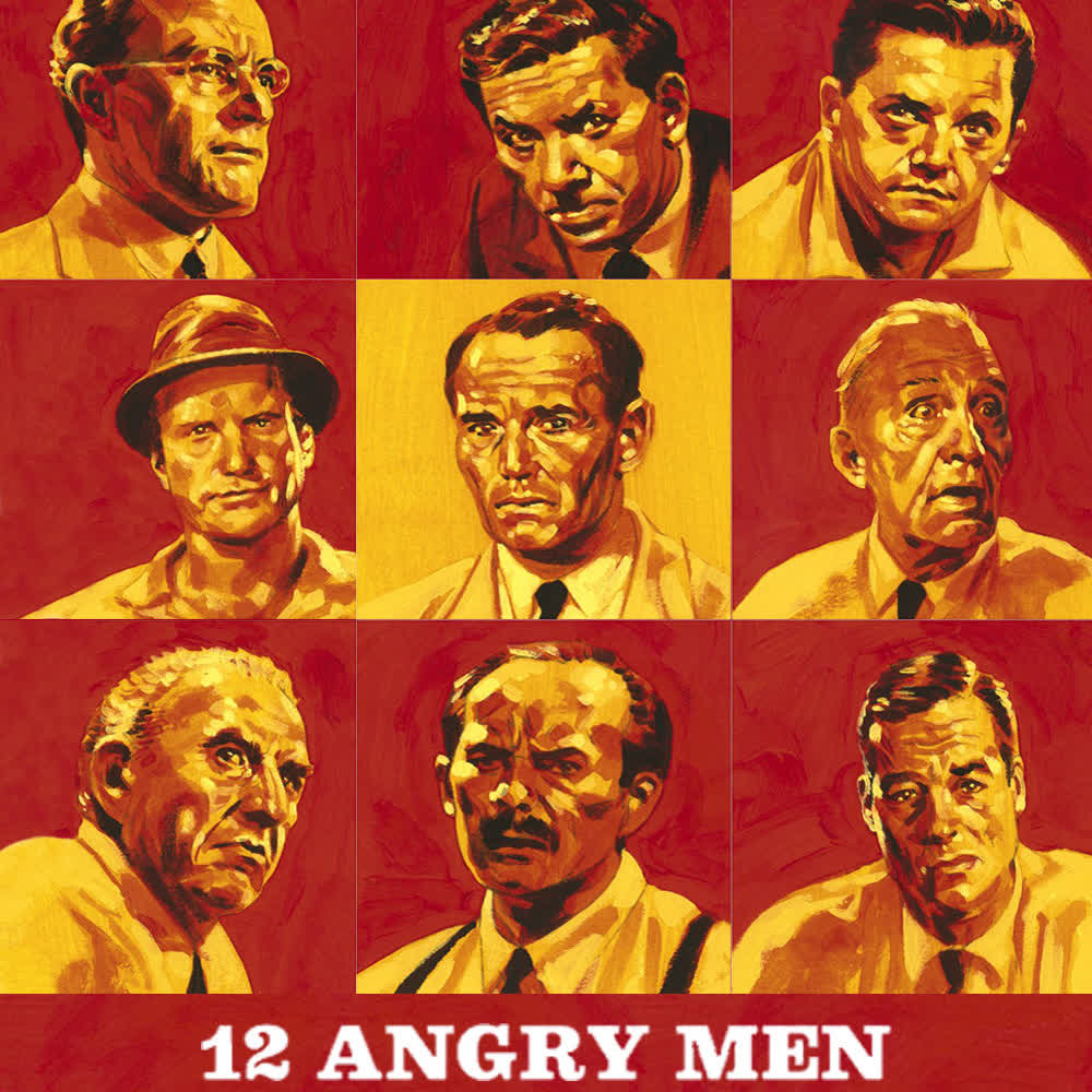 12 Angry Men نقد و بررسی فیلم 1957