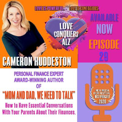 """Cameron Huddleston, Personal Finance Expert/Author of """"Mom and Dad, We Need to Talk"""""""
