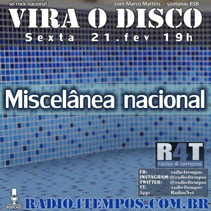 Rádio 4 Tempos - Vira o Disco 55:Rádio 4 Tempos