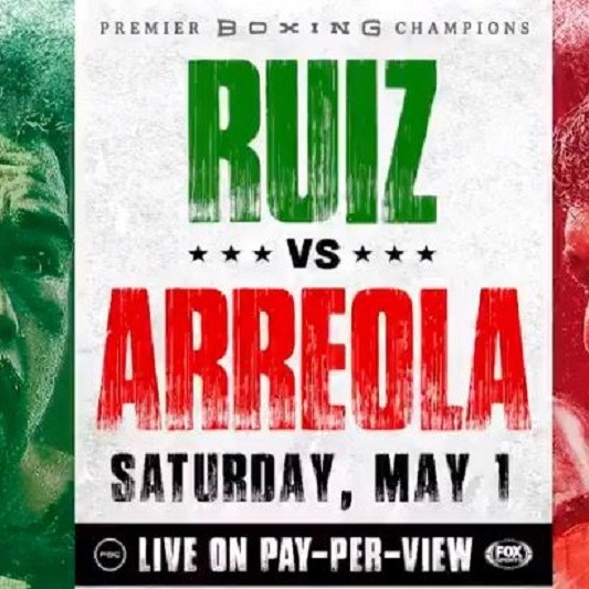 How to watch Andy Ruiz Jr. vs Chris Arreola Live PPV Boxing Online HD Stream