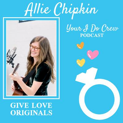 They're Playing Our Song: Take your wedding music to the next level, with a custom love song about YOU. ft Allie Chipkin, Give Love Originals