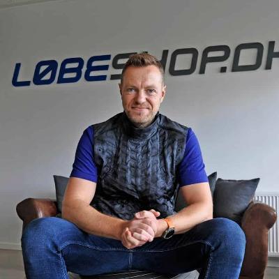 #59: Historien om Løbeshop: Fra fysisk butik til ren onlineforretning med international vækst