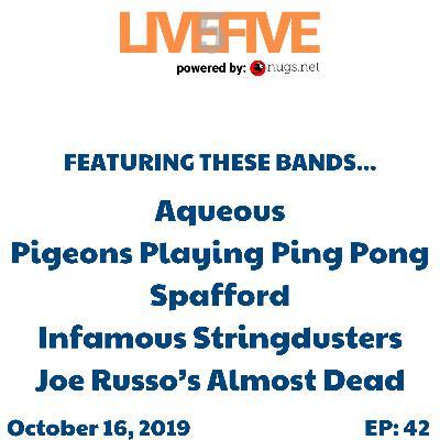 Live 5 - October 16, 2019.