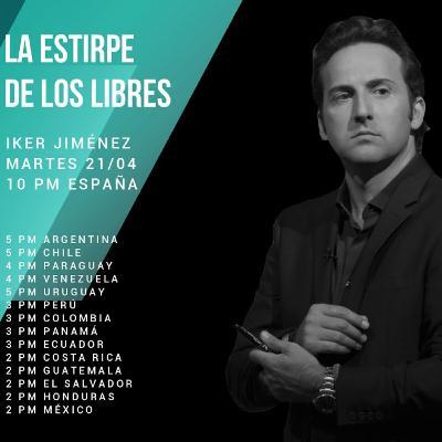"1x10 ""Laboratorio"" con Iker Jiménez #LaEstirpedelosLibres"