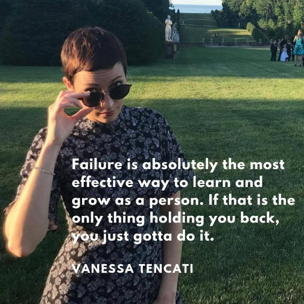 Ep 30: How to Deal With Failure and How to Stand Apart with Vanessa Tencati
